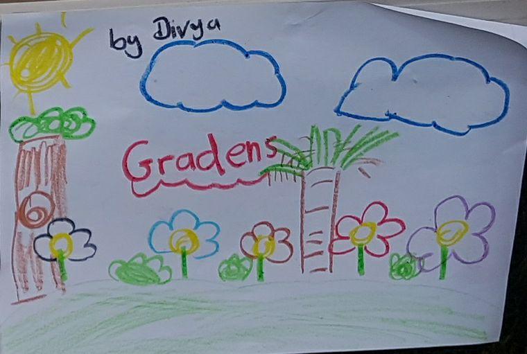 divya drawing